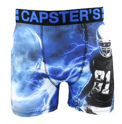 Boxer Capster's Official motif Usa Foot Eclair