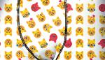 Boxer Fantaisie Freegun motif  Smiley cats