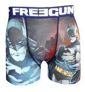 boxer fantaisie enfant freegun motif batman