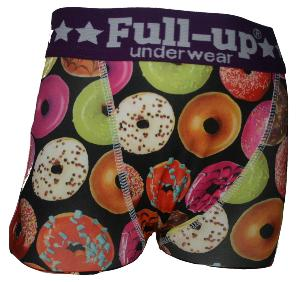 boxer enfant full-up motif donuts