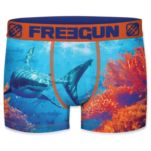 Boxer Fantaisie Freegun Requin ocean