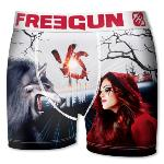 Boxer Fantaisie Freegun Loup VS Chaperon