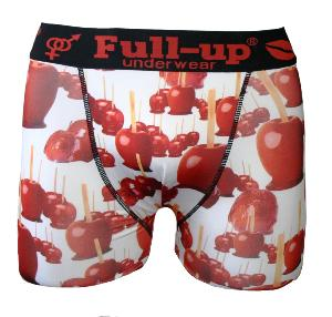 boxer full-up motif pomme d'amour