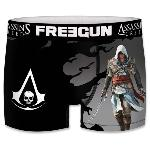 Boxer Enfant Freegun Assassin's Creed Black