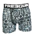 Boxer freegun Tattoo motif logo