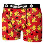 Boxer Enfant Motif pika red