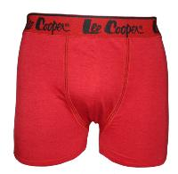boxer lee cooper couleur rouge