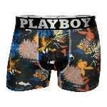 Boxer Homme Playboy Tropical pin up