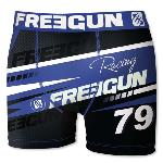 Boxer Fantaisie Freegun racing bleu
