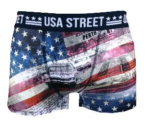 boxer homme twinday motif street usa