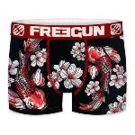 Boxer Freegun motif  Japon Poissons