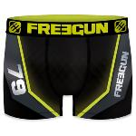Boxer Fantaisie Freegun racing jaune & black