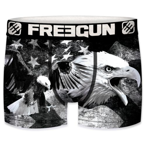 Boxer Fantaisie Freegun Aigle Black