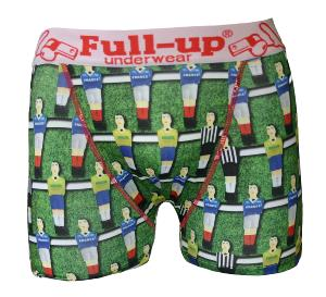 boxer homme full-up motif baby-foot