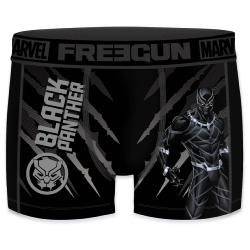 Boxer enfant Fantaisie Freegun BLACK PANTHERS
