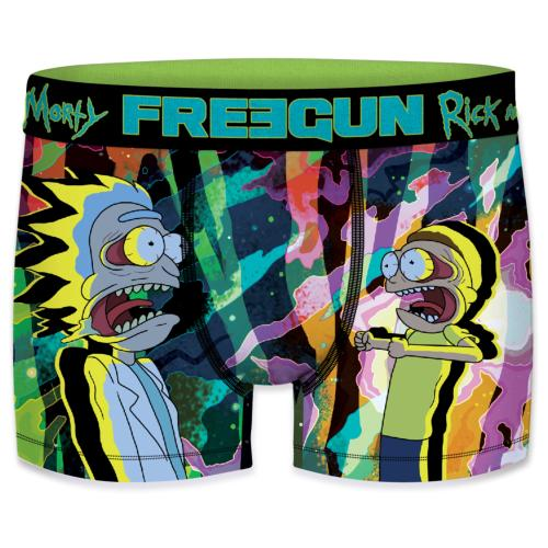 Boxer Freegun Rick & Morty Distortion