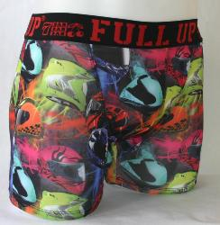 Boxer homme full-up motif CASQUE