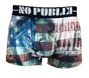 Boxer NOPUBLIK motif king