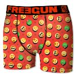 Boxer Fantaisie Freegun motif  Smiley Red