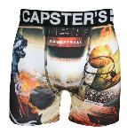Boxer Capster's Official motif Wolf basket