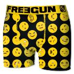 Boxer Fantaisie Freegun motif Black icons