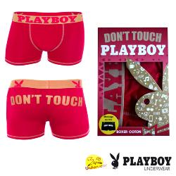 Boxer Homme Playboy  Don't Touch