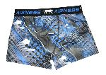 Boxer Airness Fantaisie Motif Basket bleu