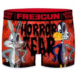 Boxer Fantaisie Freegun Bugs Bunny and Daffy Horror