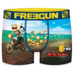 Boxer Fantaisie Freegun Smiley Moto