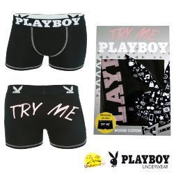 Boxer Homme Playboy  Try Me