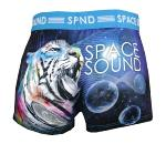 Boxer Homme Twinday motif Tiger mix