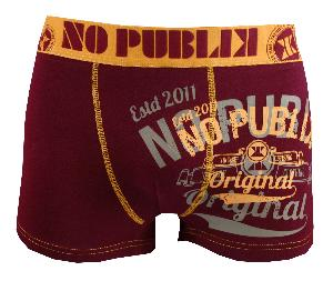 boxer no publik original bordeau