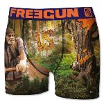 Boxer Fantaisie Freegun Bucheron VS Arbre