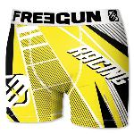 Boxer Fantaisie Freegun racing jaune