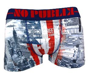Boxer NOPUBLIK Enfant motif world street