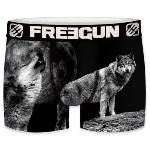 Boxer Fantaisie Freegun Loup black