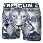 Boxer Fantaisie Freegun motif Lion