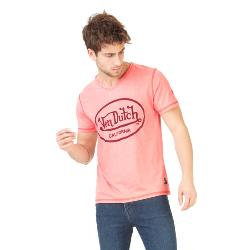 T-Shirt vondutch Homme SAUMON