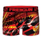 Boxer Fantaisie Freegun racing rouge fire