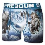 Boxer Fantaisie Freegun Loup VS Orc