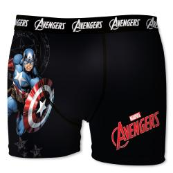 Boxer AVENGERS Marvel motif Captaine USA