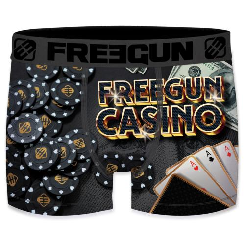 Boxer Fantaisie Freegun Casino brelan