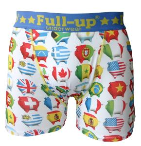 boxer full-up motif pigs