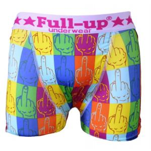 boxer homme full-up motif fingers