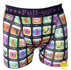 boxer full-up motif icons