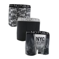 3 Boxers NoPublik motif Urban City