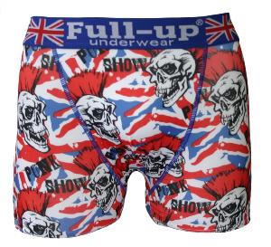 boxer homme full-up motif punk
