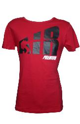 T-Shirt AIRNESS Homme Rouge Prenium
