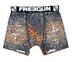 boxer freegun Tattoo motif tribal orange