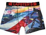 Boxer Capster's Official motif Usa monkey
